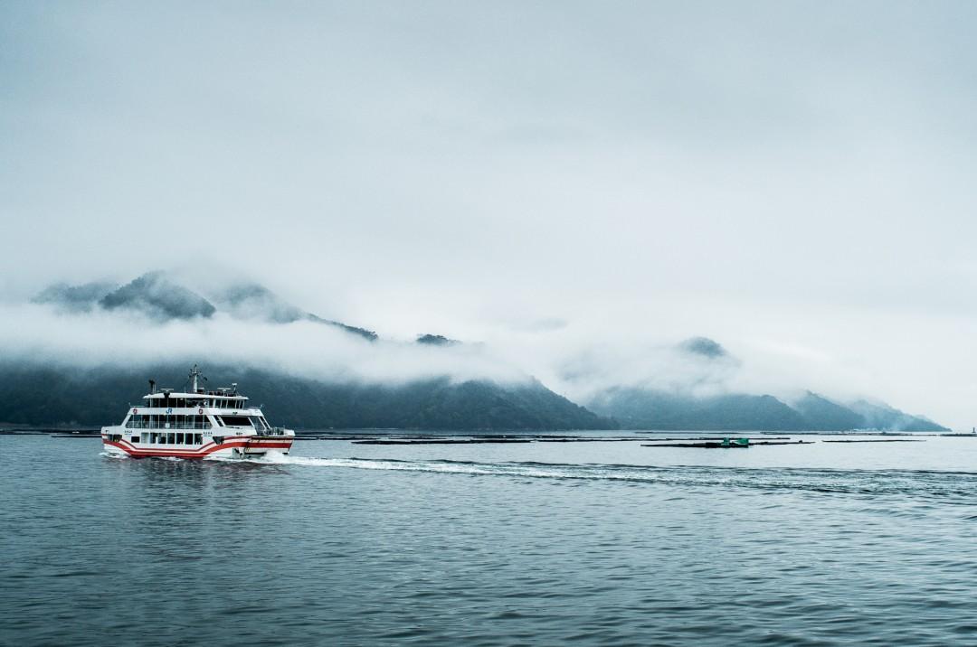 Ferry pour Itsukushima - Miyajima