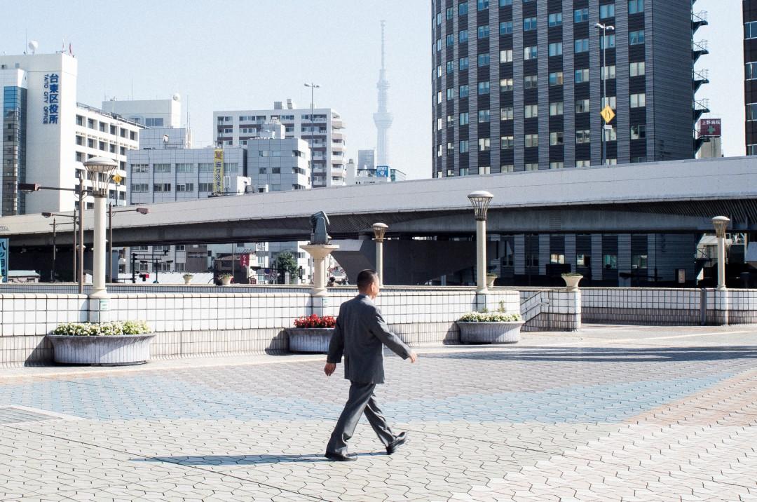 L'Homme qui marche - Tokyo