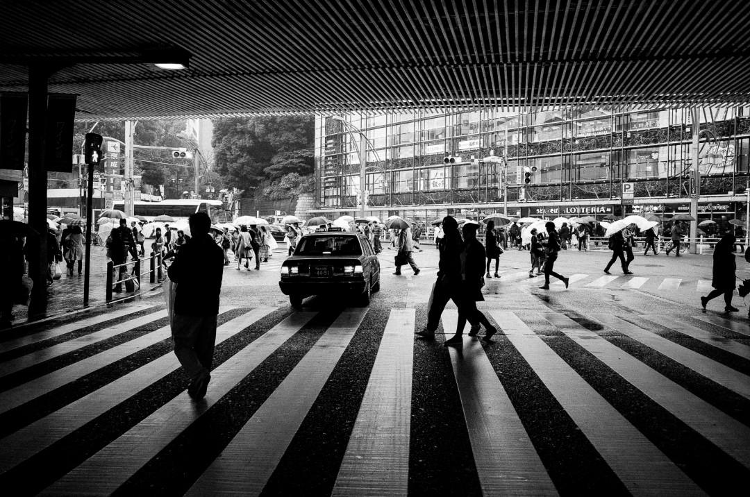 Passage piéton - Ueno - Tokyo