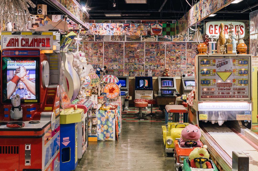 Arcade games - Odaiba